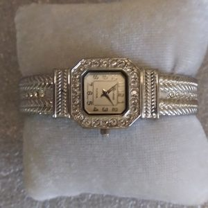 Geneva Platinum Bracelet Watch